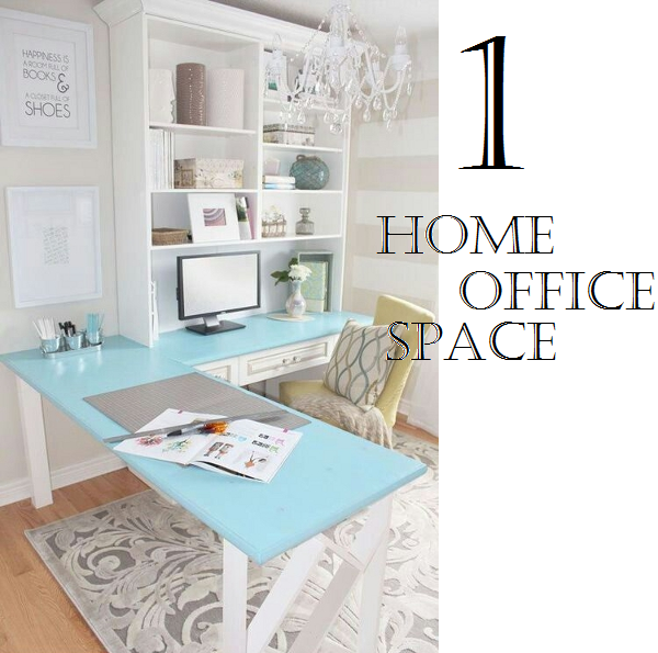 Use your bookcase to provide more storage and decorative display space in a home office.