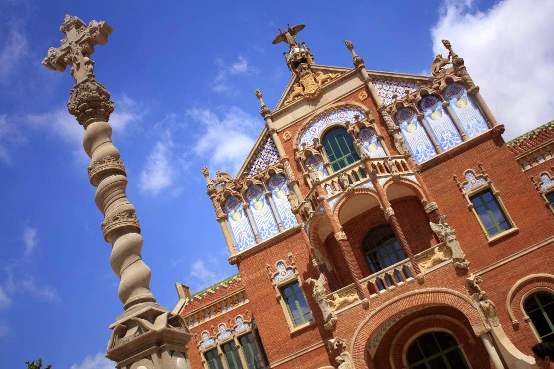 Surgery Pavilion of Hospital de Sant Pau in Barcelona