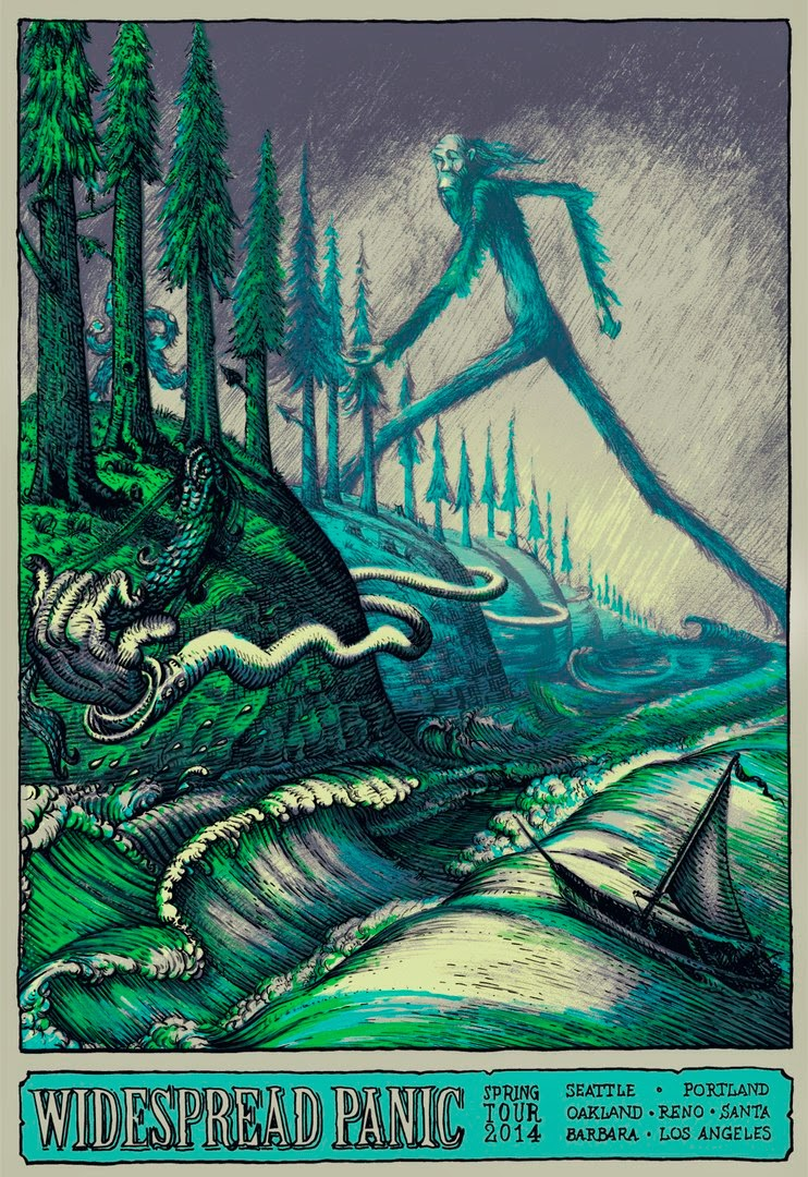 Widespread Panic  Tour Posters