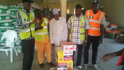Kind hearted Nigerian donates food items to Fufore IDPs