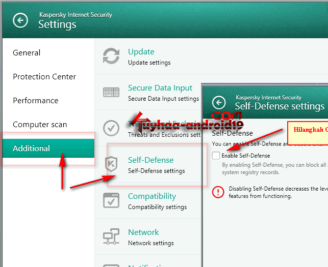 Cara Aktivasi Kaspersky Internet Security 2014 Offline