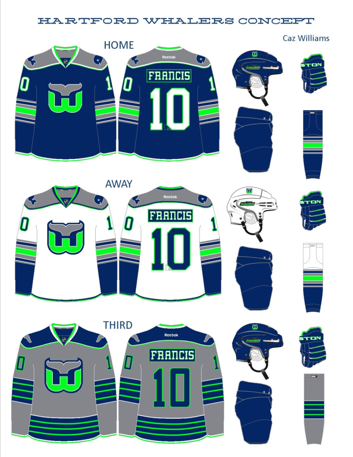 ... concept apart from other Whaler jerseys. 191f4b30f52