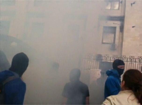 Нападение на Российское Посольство в Украине
