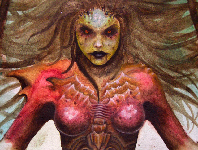 Kerrigan Unfinished  Close-Up por DendaReloaded