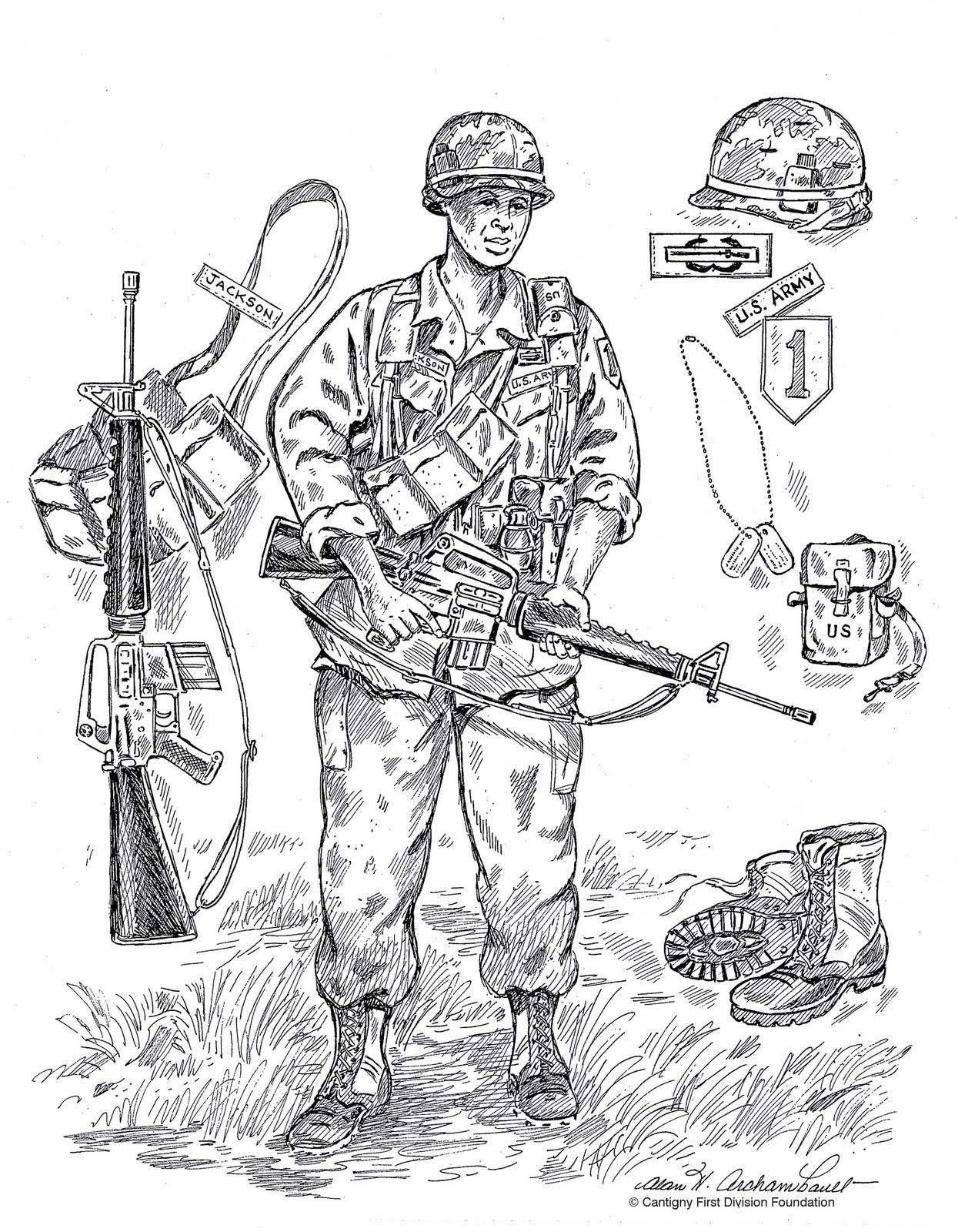 Desenho como desenhar soldado  pintar e colorir