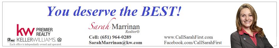 Sarah Marrinan, Keller Williams, CallSarahFirst.com