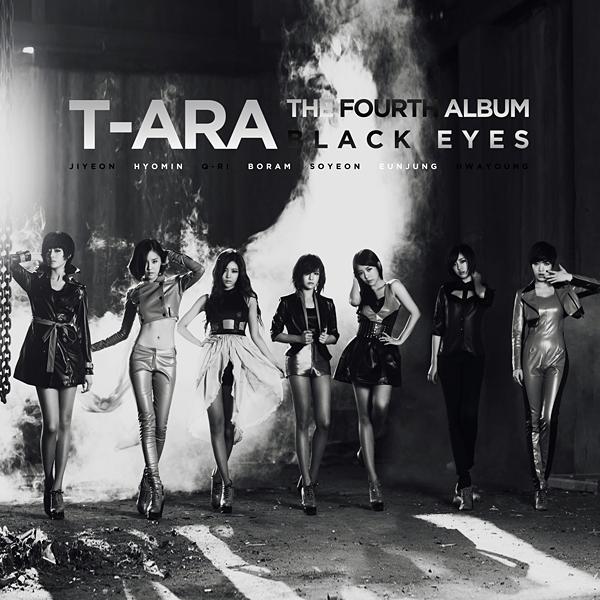 Cover World Mania T Ara Black Eyes 4th Mini Album Fan
