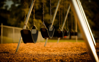 Swing Childhood Mood Fun Joy Nostalgia Walk Romance HD Wallpaper