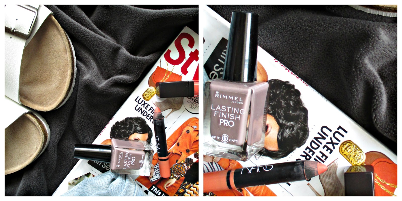 August Favorites: White Sandals+Nails+Nars Lip Pencil+ Jeans+Rimmel