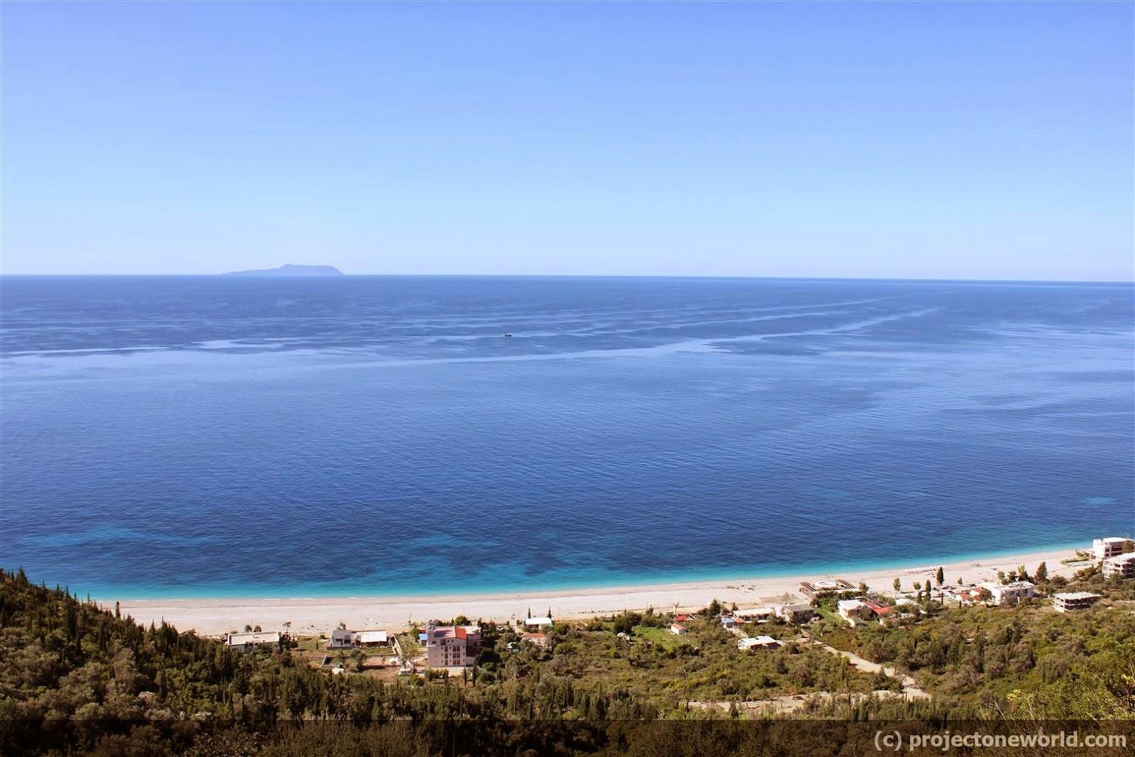 Albania Beaches Dhermi Albania Dhermi Beach
