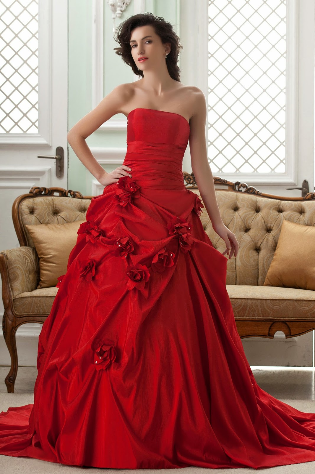 Color Wedding Dresses from DressV