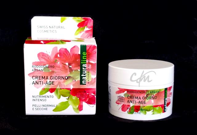 Review: Crema Giorno Anti-Age Nutrimento Intenso al Rododendro e Argan - Naturaline Natural Cosmetics