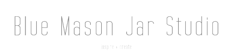 Blue Mason Jar Studio