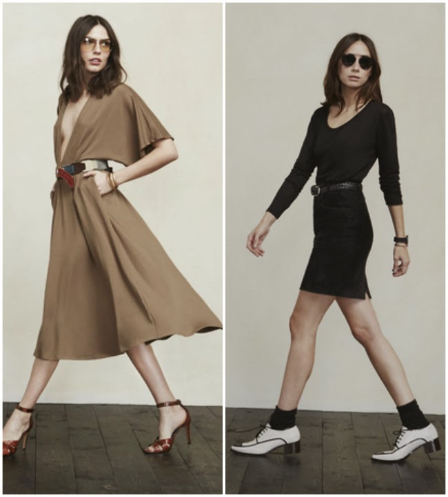 Boston Fashion, Boston Fashion Blog, Reformation, New York Designers, Made in America,  Reformation's Obvious collection, affordable fashion, diffusion lines, Obvious, The Obvious Collection, Cressida Tee, Andy Dress, Jane Dress, Obvious Cressida Tee, Obvious Andy Dress, Obvious Jane Dress