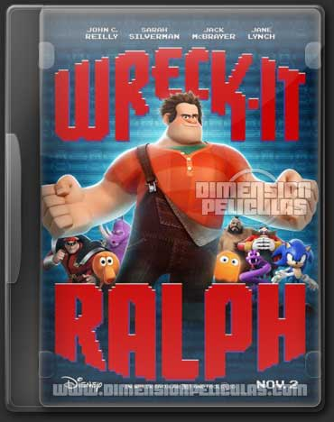 Wreck-It Ralph (BRRip 3D FULL HD Ingles Subtitulada) (2012)