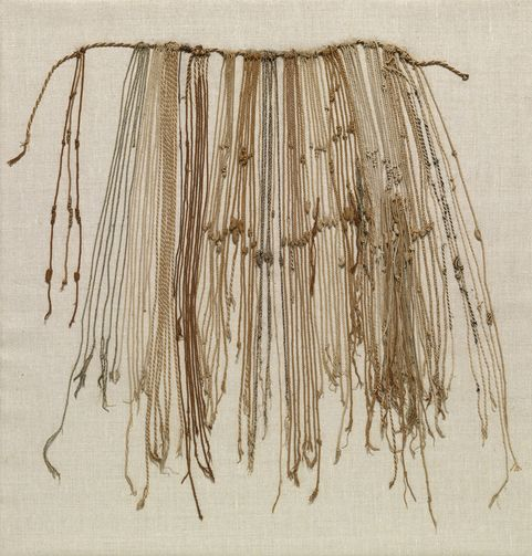 a history of the quipu Left: a numerical quipu in the collection of the american museum of natural  history, new york (accession no b-8713) in this example the.