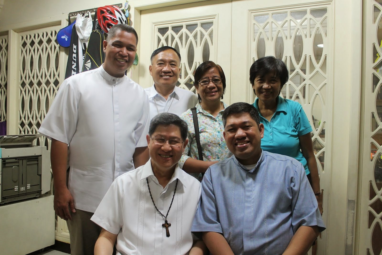 St. John Bosco Parish PPC with Cardinal Tagle