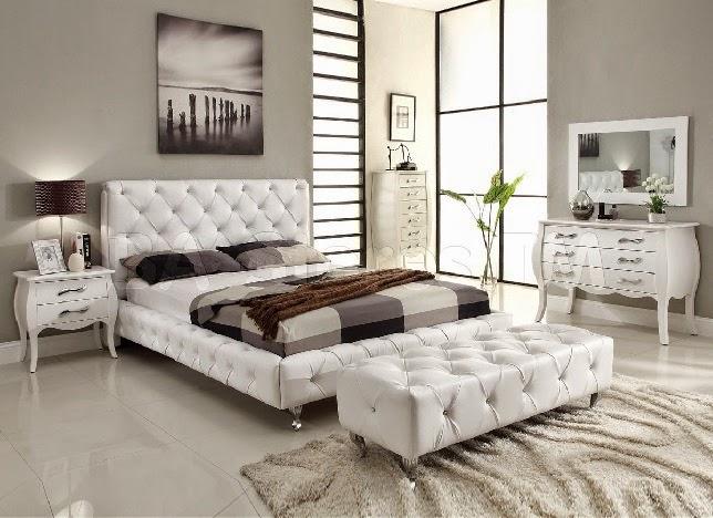 decoracao alternativa para quarto de casal:Ideias de decoração para quarto de casal em branco