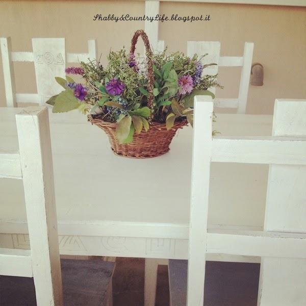 Storia di un tavolo. La cosa che ho amato. { New Look } - - Shabby&CountryLife.blogspot.it