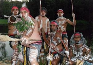 Sarawak Malaysia Borneo Rainforest World Music Festvial NUNUKUL YUGGERA (Australia)