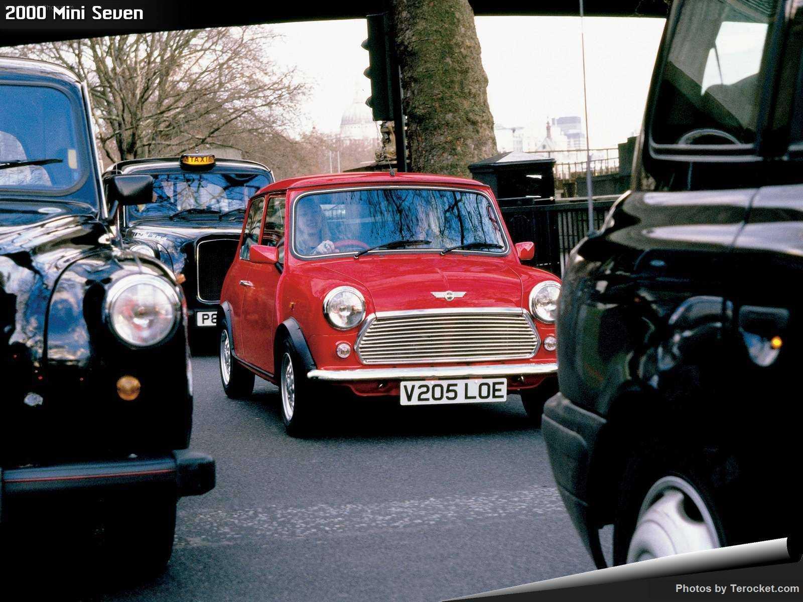 Hình ảnh xe ô tô Mini Seven 2000 & nội ngoại thất