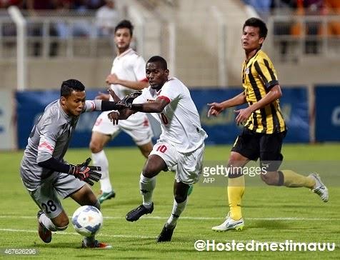 4 Gambar Harimau malaya dibelasah 6 0 oleh Oman