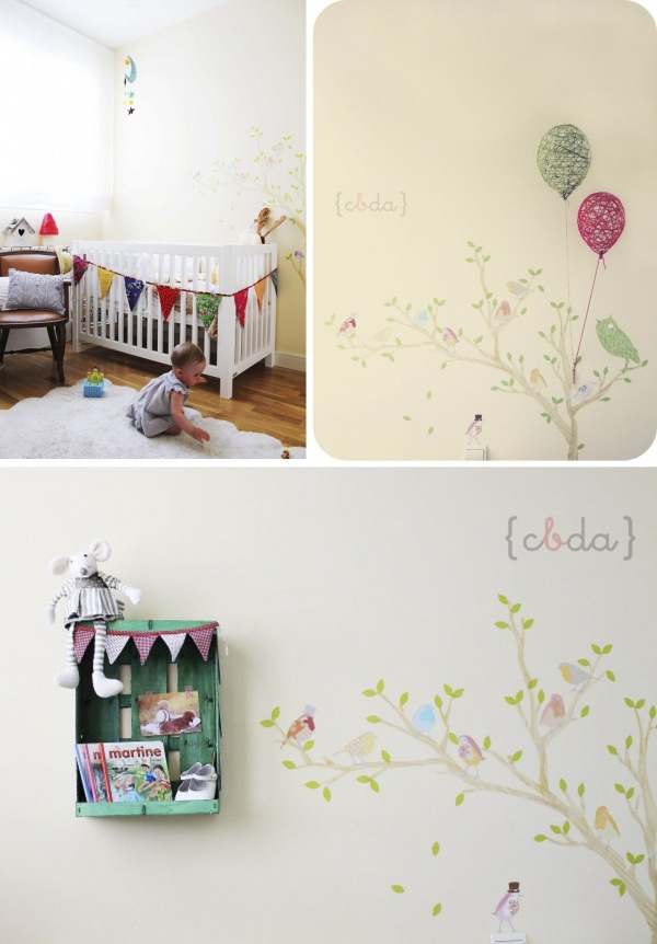 Koradecora decorar paredes habitaciones infantiles - Decorar pared infantil ...