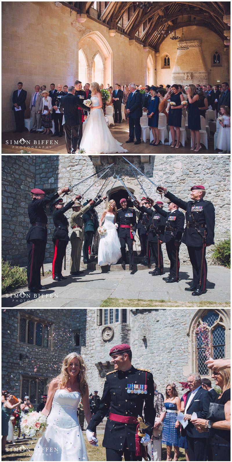 St Donat's Castle Wedding ceremony