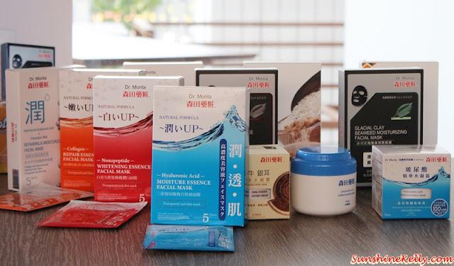 Facial Masks, For Every Skin Problem, Dr. Morita, Dr Morita facial mask, dr morita skincare, dr morita taiwan skincare, dr morita in malaysia