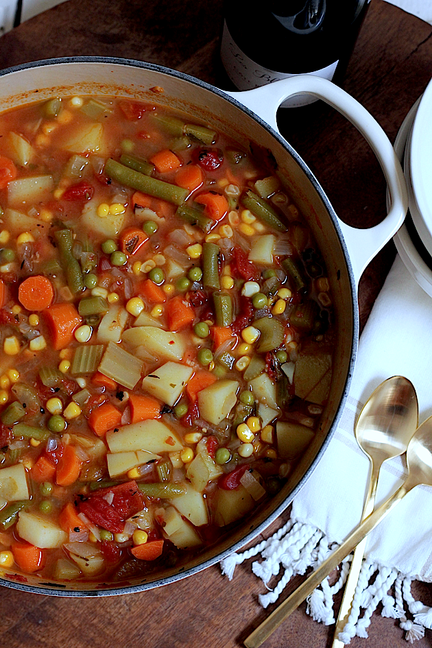 Savor Home: THE BEST SUMMER VEGETABLE SOUP... EVER.