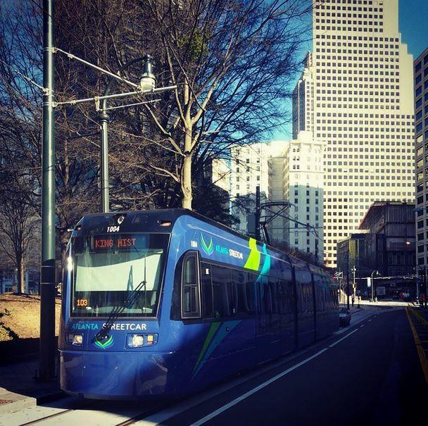 Atlanta streetcar 2015