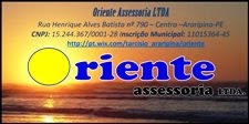 ORIENTE ASSESSORIA LTDA