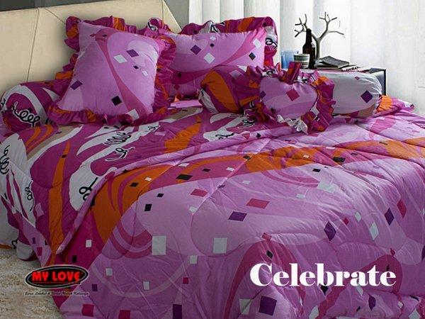 Harga Bed Cover My Love Terbaru 2015