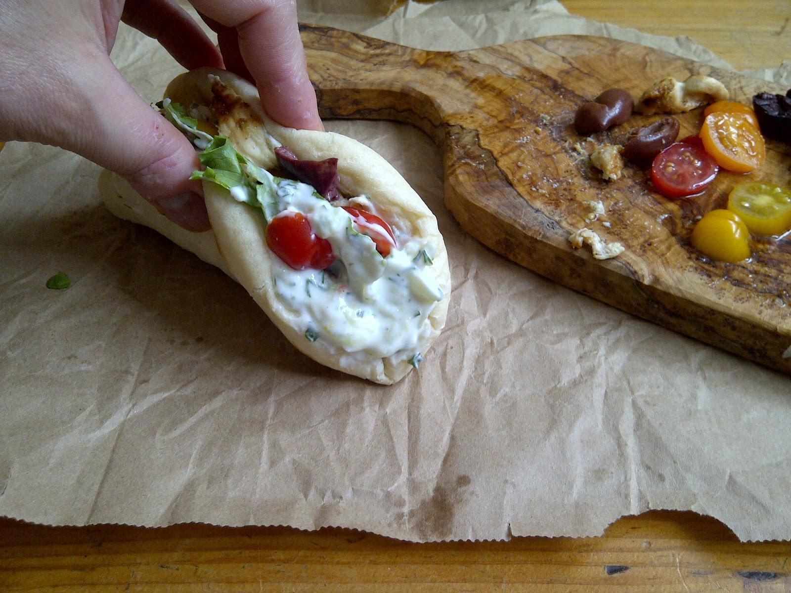 how to make pita wrap bread