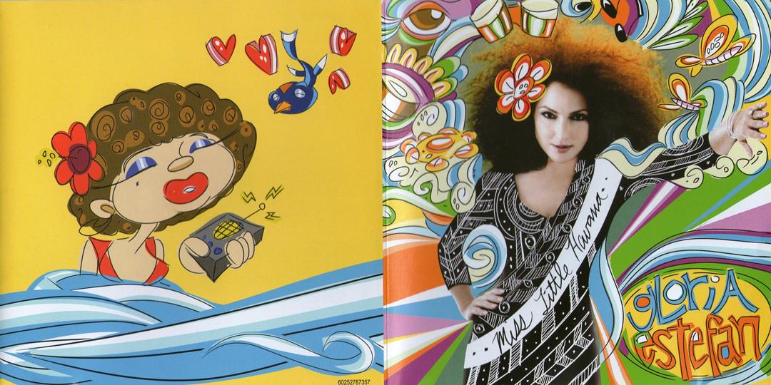 Encartes Pop: Encarte: Gloria Estefan - Miss Little Havana  Gloria Estefan Little Miss Havana