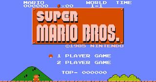 Super Mario Bros title