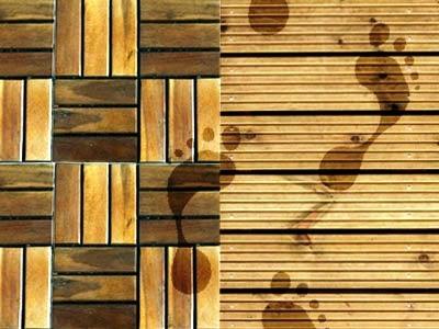 Holzterrasse für ein super Fußfeeling