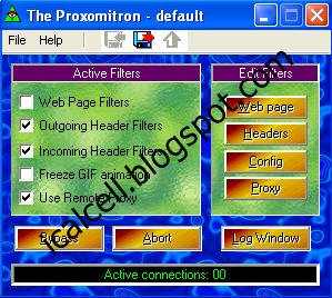 Internet Gratis Telkomsel Dengan Proxomitron Agustus 2011