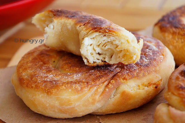 Coiled Cheese Pie from Skopelos Island