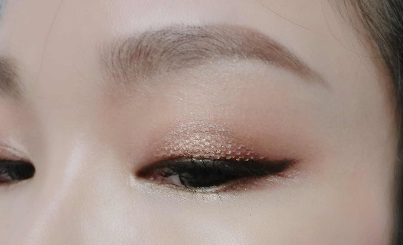 Welcome To My Beauty World 2016 Chinese New Year Makeup Look Etude House Bling Eye Stick Using Eyes 8 Apply On Coner Of The After Done All Shadow Liner