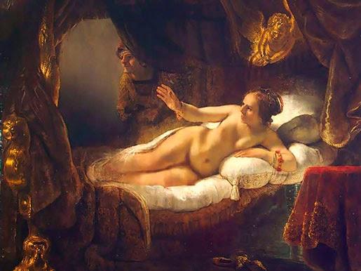 Рембрандт. Даная