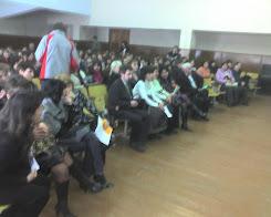 Зустріч випускників ЗОШ №1 з представниками учбових закладів міста. Актова зала ЗОШ.