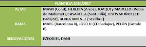 plantilla 2016/2017