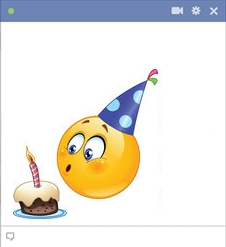Birthday Smiley For Facebook