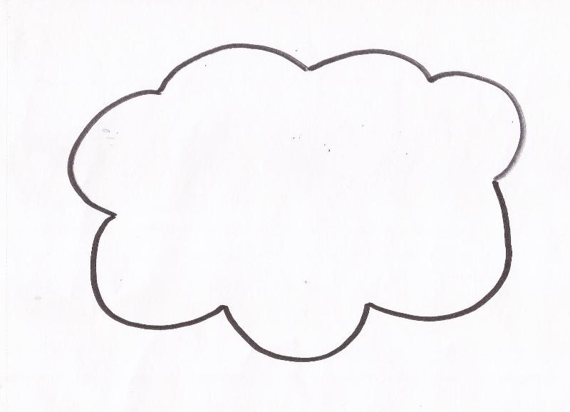 Disegni per bambini vento che soffia fare di una mosca for Nuvola da colorare