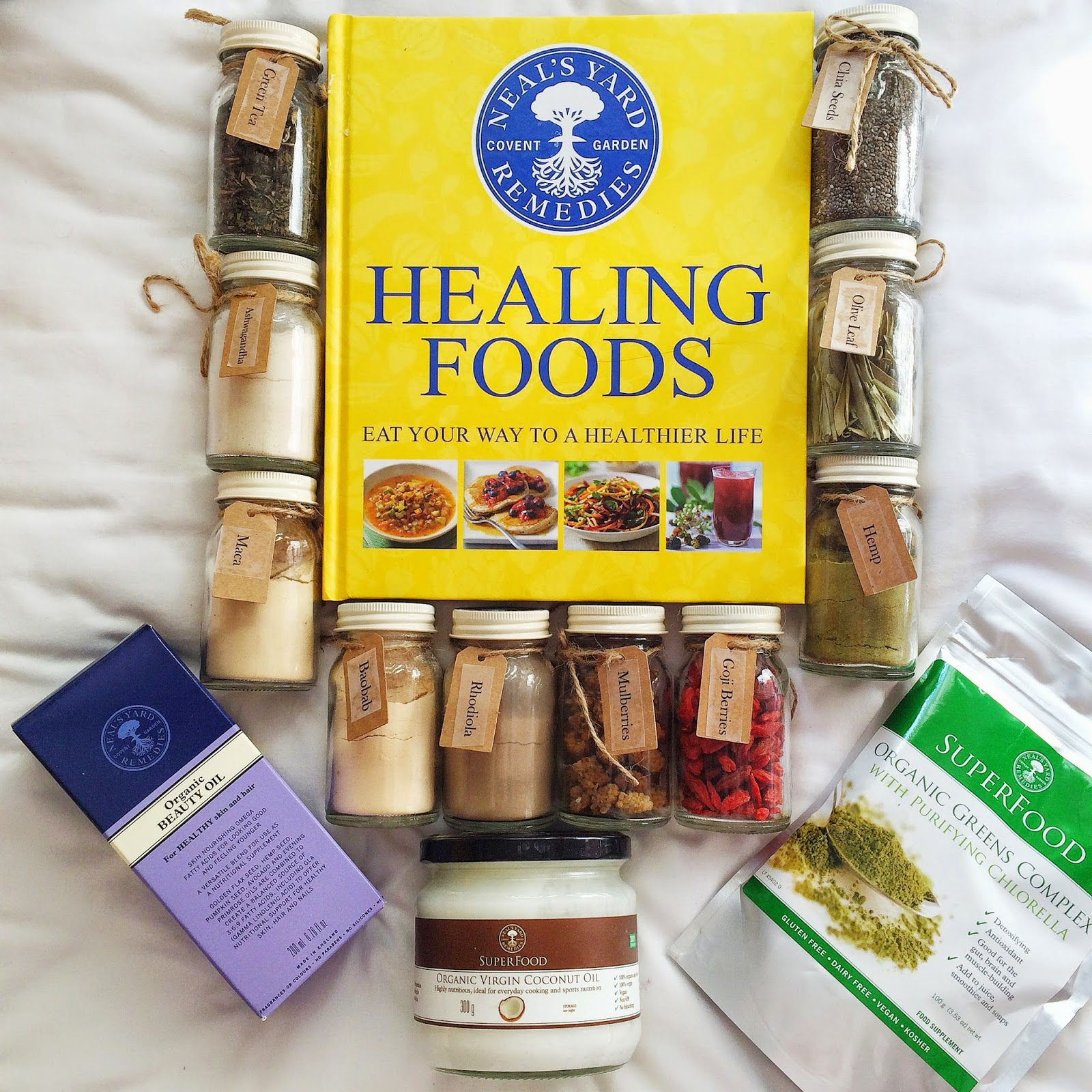 Review Neal S Yard Remedies Superfood Hamper Naturally