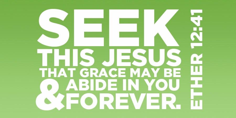 Seek this Jesus