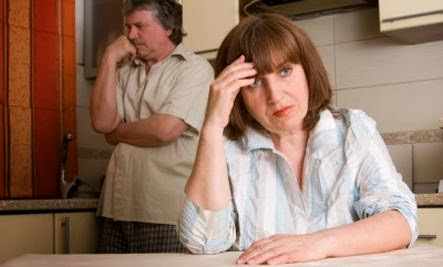 Life After the Affair  - sad woman man bad marriage life unhappy relationship divorce
