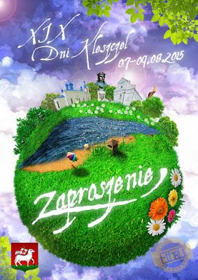 XIX Dni Kleszczel - projekt plakatu: Ethro Adrian Bienias