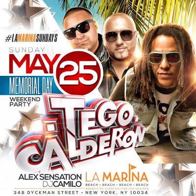 Tego Calderon - La Marina - May 25, 2014